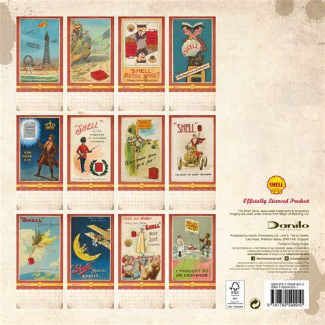 shell retro calendars ukpostersabposterscom