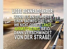 Anti Radfahrer Spruch SprücheSuche