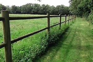 Cloture En Bois : cloture bois d couvrez nos clotures en bois nature ~ Premium-room.com Idées de Décoration
