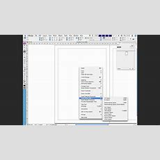 How To Add Auto Page Numbering In Indesign Cs3 And Cs4 Youtube