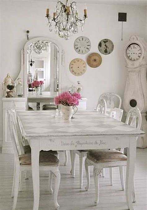 shabby chic dining room table decorations 52 ways incorporate shabby chic style into every room in your home