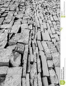 Black And White Tiled Urban City Wall Stock Image - Image ...
