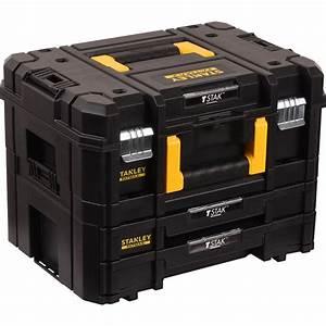 Stanley Fat Max : kit mallette 2 tiroirs stanley fatmax toolstation ~ Eleganceandgraceweddings.com Haus und Dekorationen