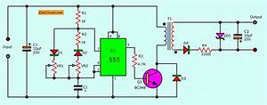 Simple Dc Converter For Digital Circuit By Ic 555