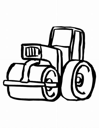Construction Coloring Pages Printable Tools Equipment Vehicles