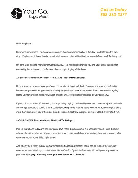 marketing letter templates word excel samples