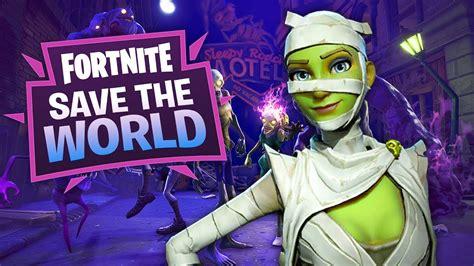 fortnite save  world   gametrex