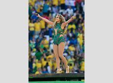 A ritmo de Samba, Jennifer Lopez brilla en la inauguración