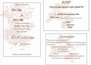 6 best images of printable invitation inserts free With printing wedding inserts for invitations