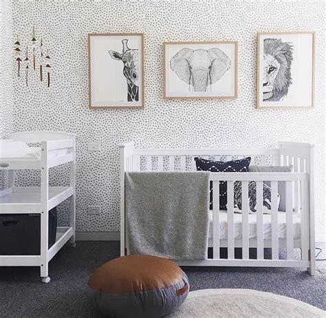 nursery wallpaper ideas  pinterest baby room