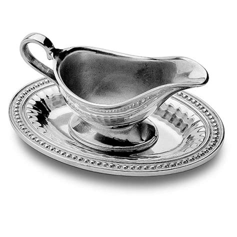 Gravy Boat Cheap by Wilton Armetale 272746 Wilton Armetale Flutes And Pearls
