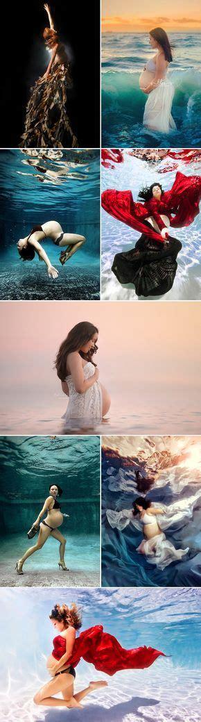 underwater maternity photo images  pinterest