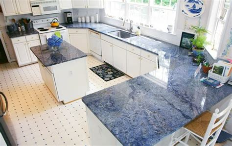 blue granite kitchen designs blue bahia granite 4812
