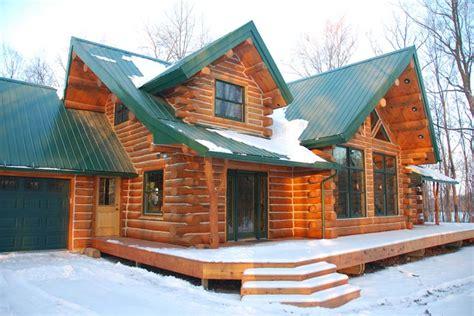 Beautiful Log Cabin For $56,000  Home Design, Garden