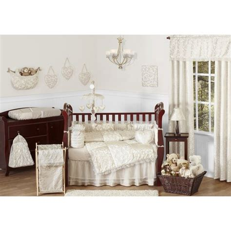 These fashion crib comforter sets exceed crib bedding expectations, and are at a lower price than other crib sets. Sweet Jojo Designs Victoria 9 Piece Crib Bedding Set ...