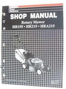 Honda Mower Hr