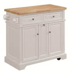 kitchen islands carts shop tresanti summerville white adjustable kitchen cart at lowes