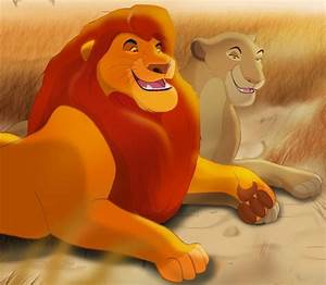 Simba's father, Mufasa (James Earl Jones) & Simba's mother ...
