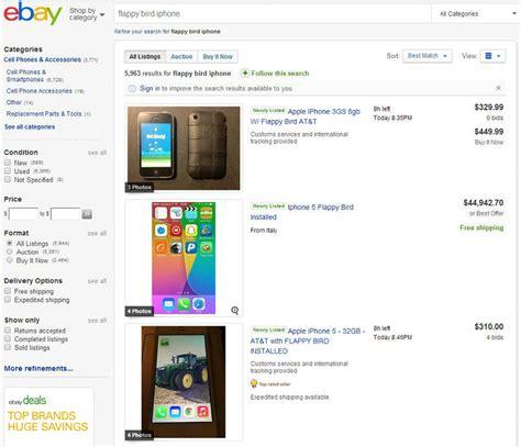 iphone with flappy bird ahora venden celulares con flappy bird unocero
