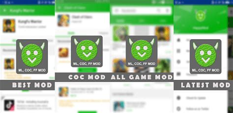 Happy Mod App Free ML & COC Latest for PC - Free Download ...