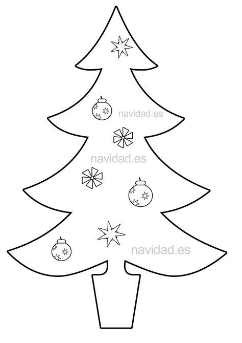 abeto de navidad para recortar y colorear jpg
