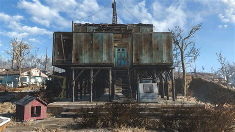 Fallout 4 Home Designs : Sanctuary Fort At Fallout 4 Nexus