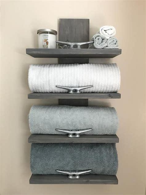 nautical towel rack nautical decor bathroom decor