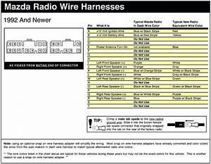 2001 Mazda Mpv Stereo Wiring Diagram