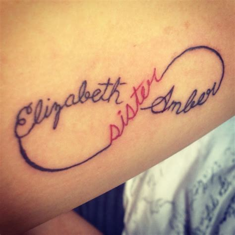 Meaningful Brother And Sister Tattoos