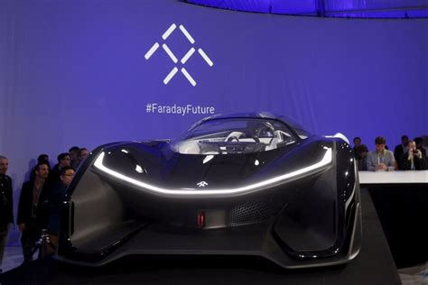 tesla rival faraday approved  test  driving cars