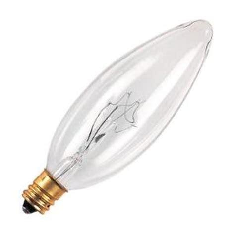 bulbrite 400540 40ctc hv b10 decor torpedo light bulb