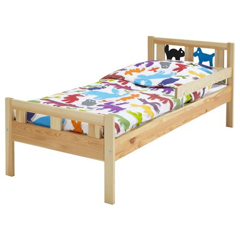 Ikea Bett Kinder by Kritter Bed Frame With Slatted Bed Base Pine Ikea For