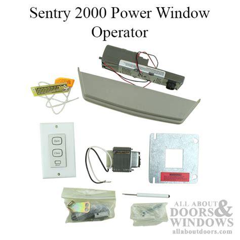 electric window operators window hardware   doors windows