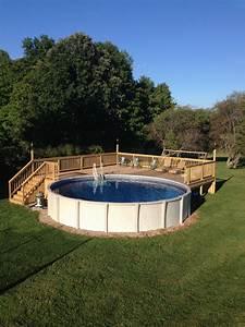 Kubikmeter Berechnen Pool Rund : above ground pool deck for 24 ft round pool deck is 28x28 pool ideas pinterest ground ~ Themetempest.com Abrechnung