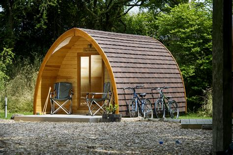 rustic farm gling in quarry pods luxury cing