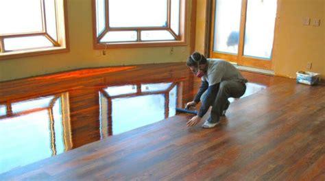 Apply Polyurethane  Wood Floors   Home