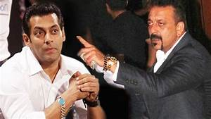 Salman Khan And Sanjay Dutt Fall Out Of Their Brotherhood ...