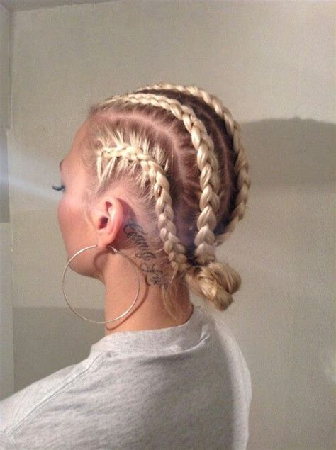 dope white girl braids natural hair love and style ideas