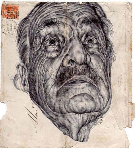 incredible envelope portraits  mark powell