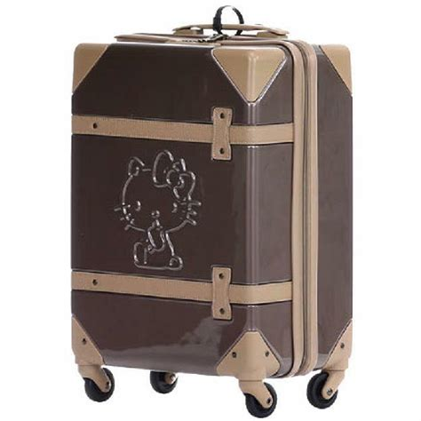 Hello Kitty Suitcase Travel Rolling Luggage Bag Trolley