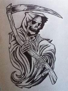 Grim Reaper Sketch by NitroInjected on DeviantArt