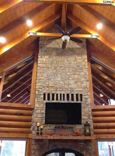inside outside fireplace custom see through outdoor indoor wood burning fireplace