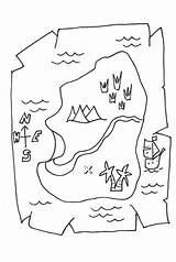 Treasure Coloring Map Maps Pirate Printable Colouring Pirates Drawing Europe Piratas Clipart Clip Canada Popular Activity Worksheets Coloringhome sketch template