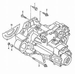 1998 Volkswagen Jetta Mounting Parts For Engine And