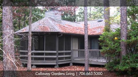callaway gardens cabin rentals of callaway gardens