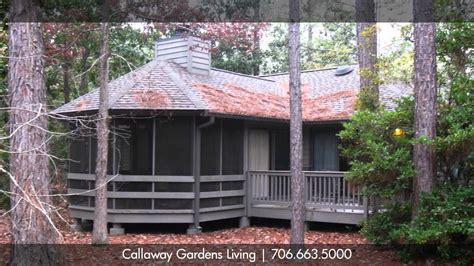 Callaway Gardens Cabins Own The Land  Southern Pine