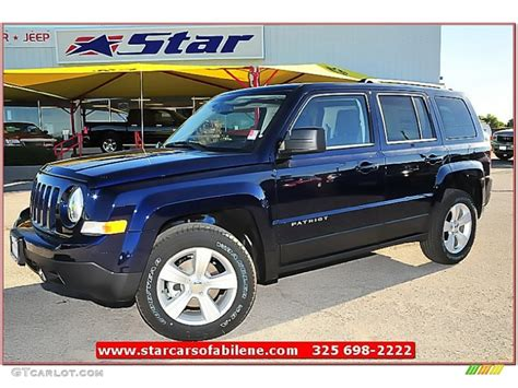 patriot jeep blue 2013 true blue pearl jeep patriot sport 72991887 photo 8