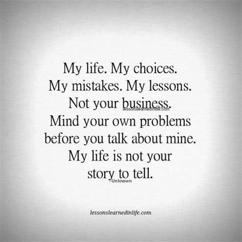 lessons learned  lifemy life  choices lessons