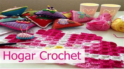 decoracion hogar crochet decoracion para el hogar tejida en crochet youtube
