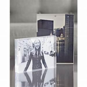 Cadre Photo Plexiglas : accessoire xl bloom cadre photo acrylic magnetic ~ Teatrodelosmanantiales.com Idées de Décoration